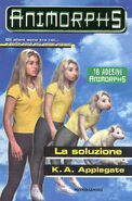 Animorphs 22 the solution La soluzione italian cover