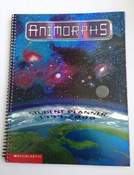 Animorphs student planner cover