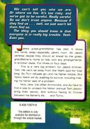 Animorphs 31 the conspiracy back cover scholastic edition