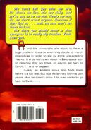 Animorphs 18 decision back cover