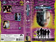 Animorphs vhs 1.2 swedish front and back