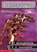 Animorphs 3 the encounter El encuentro spanish cover Emece