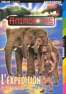 Animorphs 42 journey french cover L'expedition