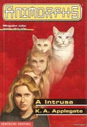 Animorphs 2 the visitor A intrusa portuguese cover Bertrand Editora