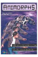 Animorphs 3 the encounter Spotkanie polish cover
