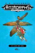 Animorphs 03 The Encounter 2018 Vietnamese reprint cover