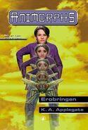 Animorphs 6 the capture Erobringen Norwegian cover