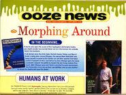 Nickelodeon magazine animorphs morphing around