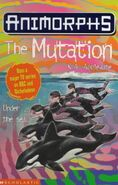 Animorphs 36 the mutation UK cover