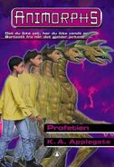 Animorphs 34 the prophecy Profetien Norwegian cover