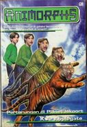 Animorphs book 26 indonesian cover