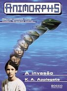 Animorphs 1 the invasion A invasao brazilian cover Rocco