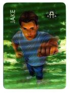 Jake morph card only from the invasion game