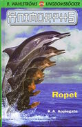 Animorphs 4 the message Ropet swedish cover
