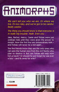 Animorphs 3 the encounter UK back cover
