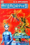 Animorphs 18 the decision Phản binh tàu con cú vietnamese cover book 32