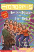 Animorphs book 48 47 return resistance uk cover