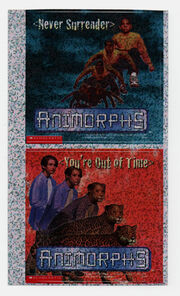 Animorphs stickers book 10 book 11