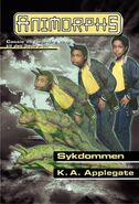 Animorphs 29 the sickness Sykdommen Norwegian cover