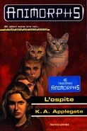 Animorphs visitor book 2 italian l'ospite cover