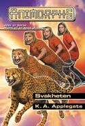 Animorphs 37 the weakness Svakheten Norwegian cover
