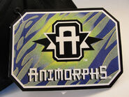 Animorphs baseball cap tag side 1