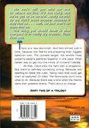 Animorphs 21 the threat back cover scholastic edition
