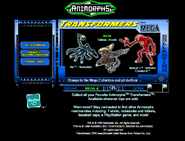 Scholastic.com web screenshot transformers mega ax tobias visser three
