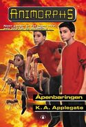 Animorphs 45 the revelation Apenbaringen Norwegian cover