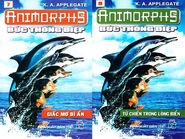 Animorphs 4 the message Bức thông điệp vietnamese covers books 7 and 8