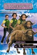 Animorphs 39 the hidden Jakten Norwegian cover