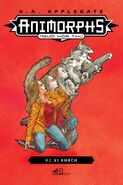 Animorphs 02 The Visitor 2018 Vietnamese reprint cover