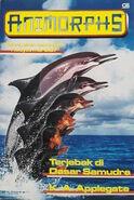 Animorphs book 4 indonesian cover Terjebak di Dasar Samudra