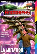 Animorphs 13 the change La mutation French cover folio junior