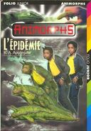 Animorphs 29 the sickness french cover