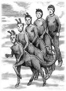 Animorphs the alien book 8 david mattingly original sketch