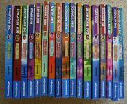 Animorphs german book spines books 1-27