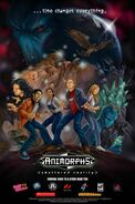 Animorphs shattered reality retailer marketing poster