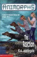 Animorphs 12 the reaction UK cover earlier