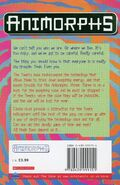Animorphs 39 the hidden UK back cover