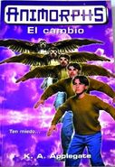 Animorphs 13 the change spanish cover