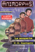 Animorphs 20 the discovery La scoperta italian cover