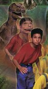 Marco from mm2 dinosaur poster