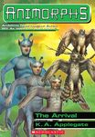 Animorphs 38 the arrival cover stock image