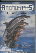Animorphs 4 the message spanish cover