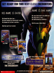 Hork-Bajir Chronicles David Trilogy ad Nick Mag ad Sept 1998