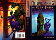 Hork bajir chronicles hardback front and back cover