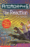Animorphs 12 the reaction UK front cover later