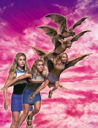 Rachel morphing Bat