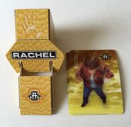 Rachel morph card holder set up